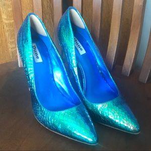 260c65ca47bd Dune London Shoes - Dune London Iridescent Mermaid Pumps